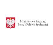 Logo Ministerstwo Rodziny i Polityki Społecznej